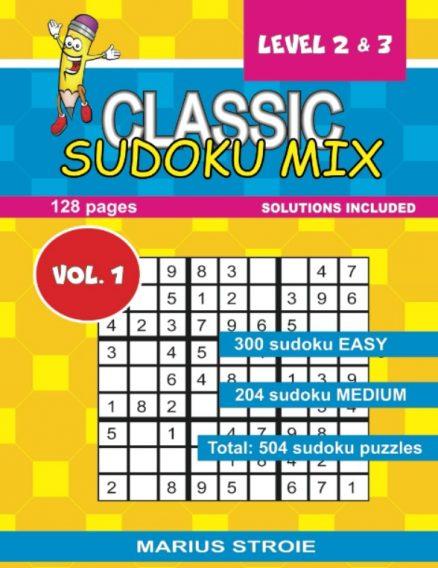Classic Sudoku Mix- level 2 & 3, nr.1
