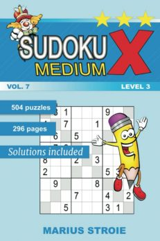 Sudoku X -medium - nr.7
