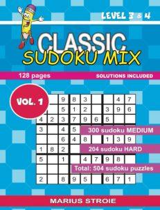 Classic Sudoku Mix- level 3 & 4, nr.1