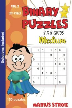 Binary puzzles - medium- vol..2
