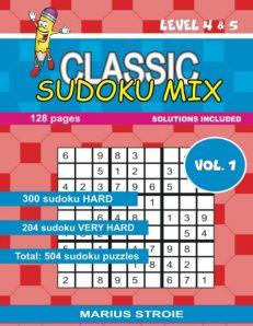 Classic Sudoku Mix- level 4 & 5, nr.1