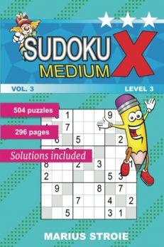 Sudoku X -medium - nr.3