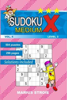 Sudoku X -medium - nr.4