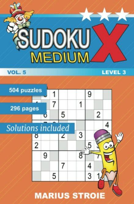 Sudoku X -medium - nr.5