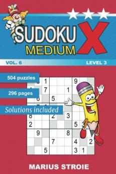 Sudoku X -medium - nr.6