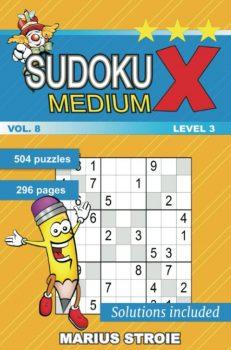 Sudoku X -medium - nr.8