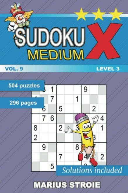 Sudoku X -medium - nr.9