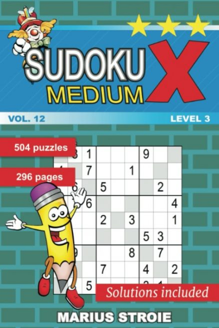Sudoku X -medium - nr.12