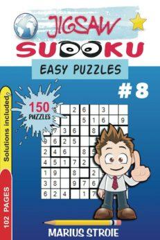 Jigsaw Sudoku - easy, nr.8
