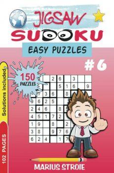 Jigsaw Sudoku - easy, nr.6