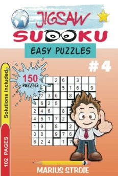 Jigsaw Sudoku - easy, nr.4