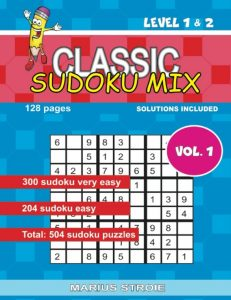 Classic Sudoku Mix- level 1 & 2, nr.1