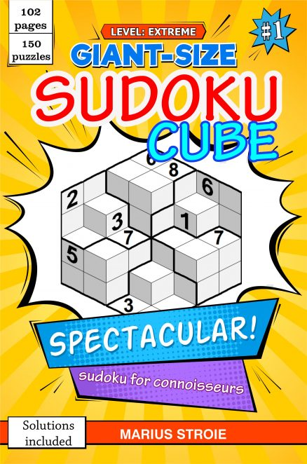 Sudoku Cube - extreme - nr.1
