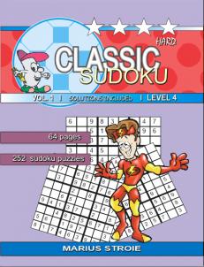 Classic Sudoku – hard – nr.1