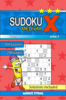 Sudoku X -medium - nr.1