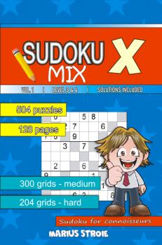 Sudoku X -MIX - nr.1