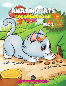 Amazing Cats - coloring book, vol.2