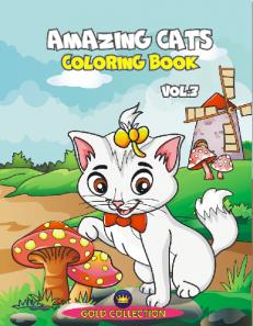 Amazing Cats - coloring book, vol.3