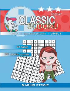 Classic Sudoku – medium – nr.1