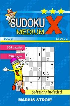 Sudoku X -medium - nr.2